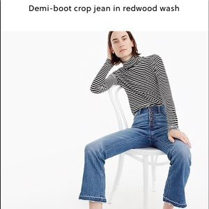 Must Have....jcrew crop jeans